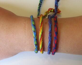 Kumihimo Braided Bracelet (16 strings)