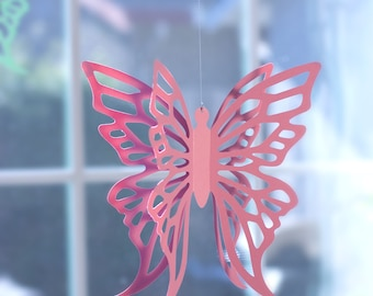 Hanging Butterflies for Butterfly Party or Wedding Decoration