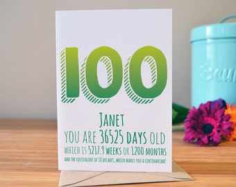 Best husband card husband birthday card happy birthday to 100th birthday card milestone birthday card personalised greetings card 100 years old today bookmarktalkfo Images