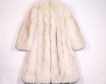 VINTAGE - Fox fur coat