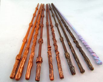 Set of 10 Magic Wands Party Favours - 10 Magic Wand Props - Set of 10 Wand Party Favors - Magic Wand photo prop