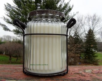 20oz Double Wick 100% Soy Candle. Made To Order. Natural. Long Burning. Eco-Friendly.