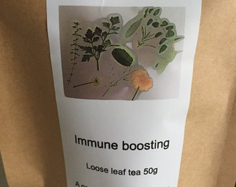 Immune boosting blend loose leaf tea 20g