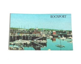 Vintage Postcard, Rockport Massachusetts, Sandy Bay Yacht Club, Travel Postcard, Souvenir Postcard, Motif Number 1