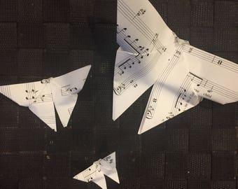 Origami Butterflies