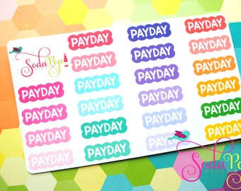 Pay Day Scallop Labels