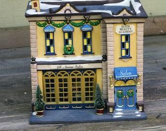Dept 56 Christmas In The City 5th Avenue Salon 56.58950