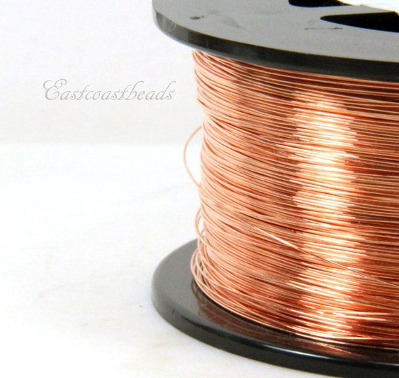 Copper Wire, 26 Gauge, Dead Soft, Solid Copper Wire, Jewelry ...
