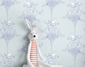 Deergarden Self-adhesive Wallpaper ( 2'x3' )