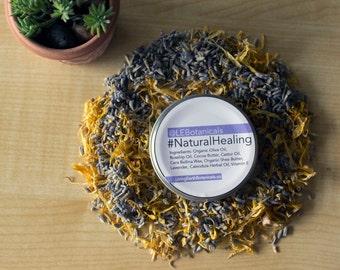 Healing Balm, Healing Salve, Natural Healing, Lavender Balm, Calendula Balm, Everything Salve, Calming Balm 2 oz.