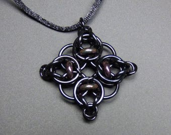 Celtic Diamond Pendant