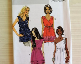 Butterick B5644 Misses Semi-Fitted Top Sewing Pattern  / Uncut FF