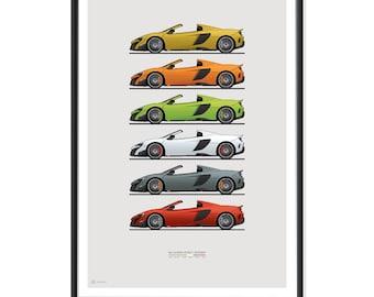 McLaren 675LT Poster