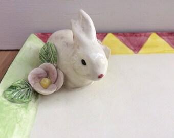 Rabbit snack plate