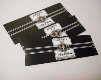 Birthday Cigar Bands - Custom Cigar Bands - Birthday Cigar Bands  - Customizable