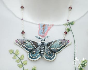 Vienna Night Moth Necklace
