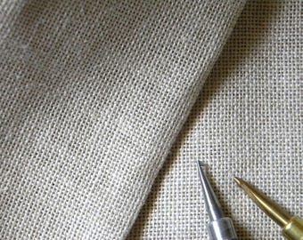 """Primitive Bleached Rug Hooking Linen 60"""" - Hooked Rug Foundation - Per Yard - from Notforgotten Farm™"""