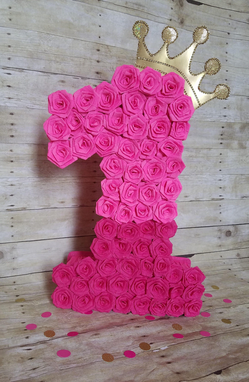 n mero cuatro pi ata pi ata rosa caliente color de rosa. Black Bedroom Furniture Sets. Home Design Ideas