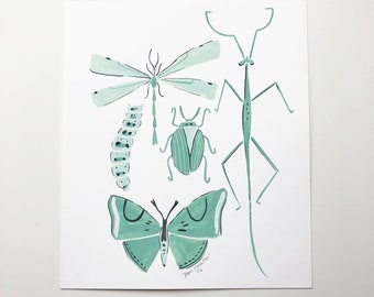 Insects (original painting)