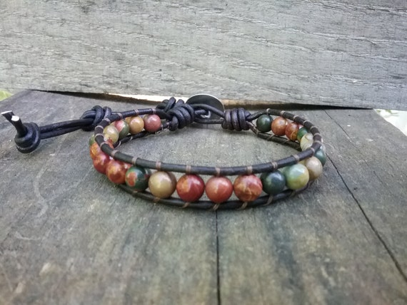 Mens Beaded Bracelet Gifts for Men Native American Jewelry
