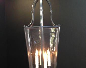 Antique Brass Hanging Lantern