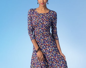 McCall's Sewing Pattern M7046 Misses' Ruched Tops and Dresses