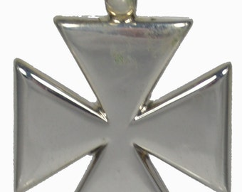 Byzantine Cross Sterling Silver 925 Pendant