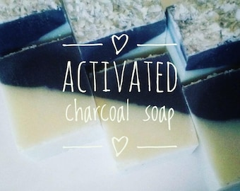 4 Activated charcoal soaps