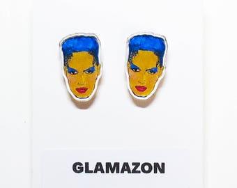 Glamazon Acrylic Earrings