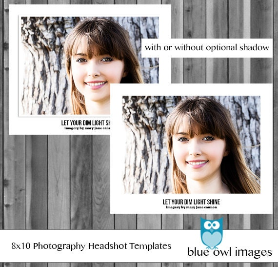 headshot photography marketing template 6 customizable 85x11 pages