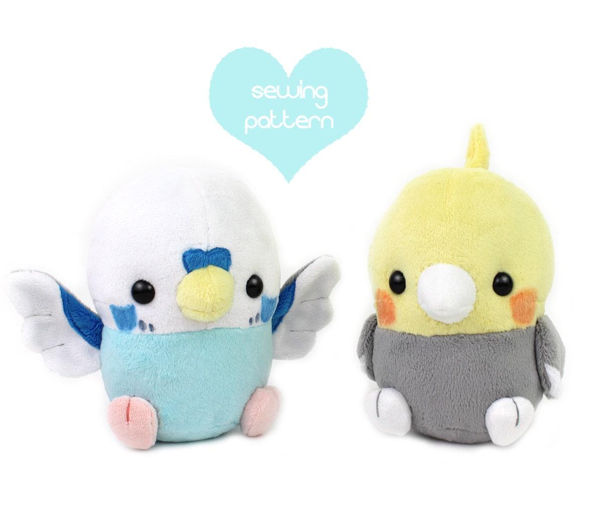 Pdf sewing pattern baby bird plush stuffed animal kawaii zoom jeuxipadfo Gallery