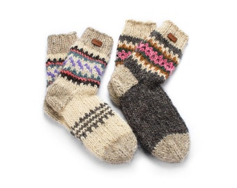 uMountain Craft woolen socks - Two Pair of Socks