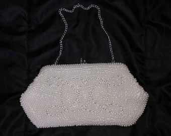 Pearl Encrusted Purse