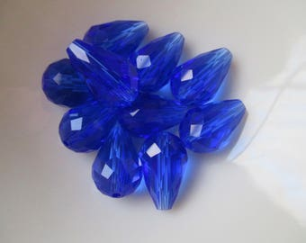 SALE **BOGO**Crystal Teardrops  10 x 15mm  Your Choice of Color