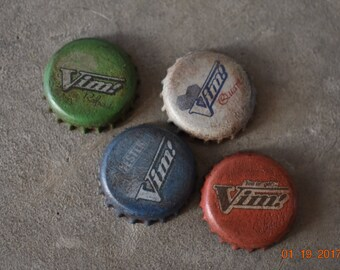 Fallout 4 VIM Soda Bottle Caps! Wasteland Bottle Cap Far Harbor Vim Pop. Nuka Cola Caps Fall Out Cosplay Prop NukaCola Caps Vim!