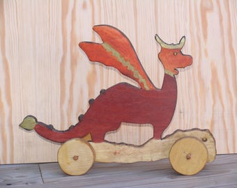 Red Dragon skateboard: games of yesteryear