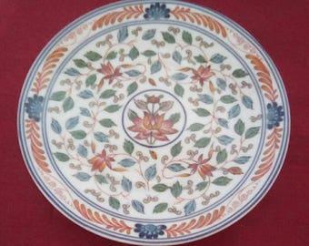 Imari Blossoms Georges Briard Bread Plates