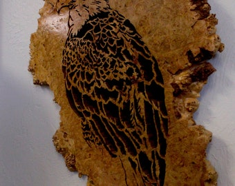 Bald Eagle Scroll Saw Art