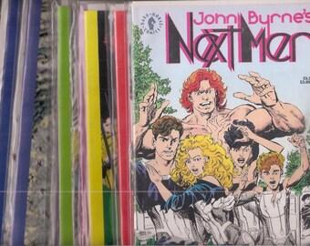 John Byrne's Next Men Comics Books Lot 0 1 2 3 4 5 6 7 8 9 10 11 12 13 14 15 16 17 18 19 22 24 Dark Horse Modern Age