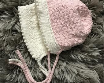 Cotton Baby Bonnet