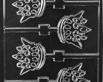 LOPK-156 - Crown Chocolate Lollipop Mold
