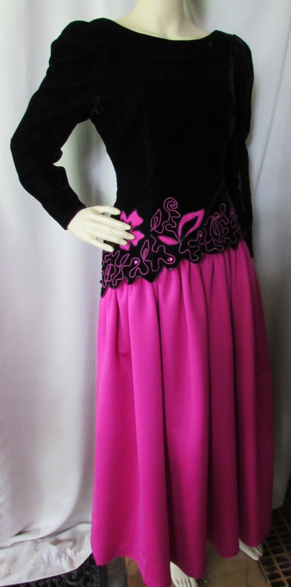 Sale vintage evening dress lee jordan design neiman marcus junglespirit Choice Image