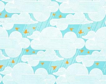 Atrium by Joel Dewberry -- Cumulus in Mint -- 1/2 YD