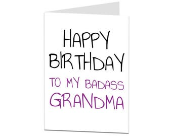 Card for grandma etsy grandma card birthday card grandma happy birthday grandma grandma birthday card grandma bookmarktalkfo Gallery
