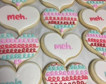 Meh. Valentines cookies