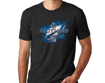 Scotland Rugby Cotton Crew Sort Sleeve Shirt