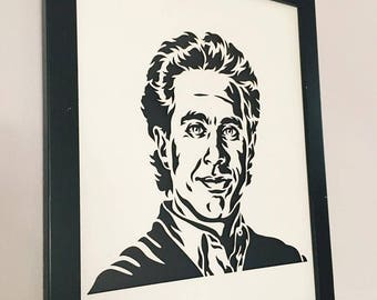 3D Stencil | Jerry Seinfeld