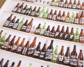 """99 Bottles of Beer on the Wall 18""""x24"""" print"""