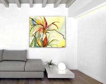 Hawaiian Flower Giclee Print