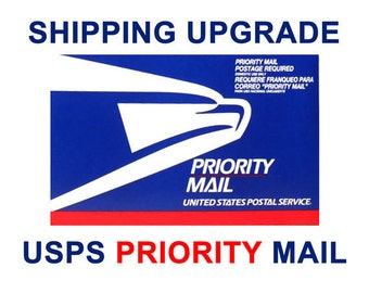Shipping priority or Express USPS 2 to 3 days in US